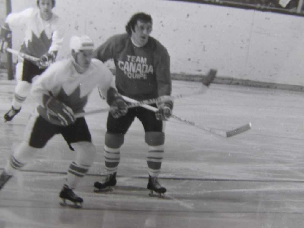'72 Summit Series Exhibition game (Picture  by Robert Black)